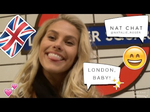NatChat goes to London | Meet my new modelling agency