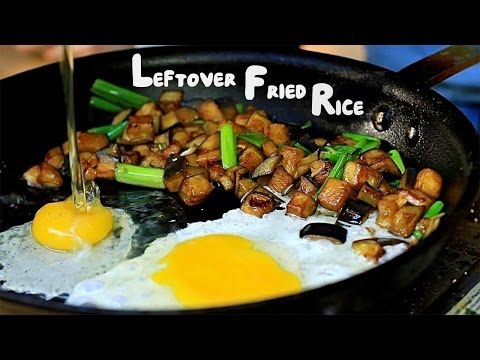 Leftover Fried Rice Trick - Cheap Quick Meals