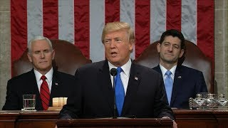 WATCH LIVE: President Donald Trump delivers his first State of the Union Address (2018)   ABC News