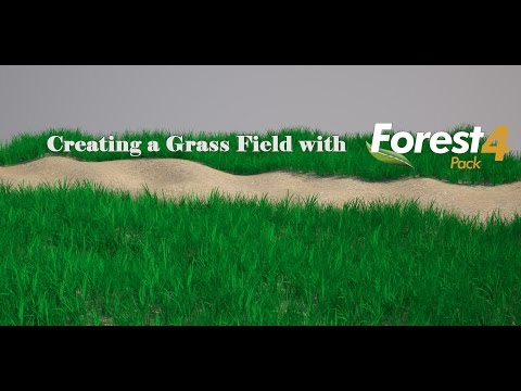 Creating a Custom Grass Field with Forest Pack Pro