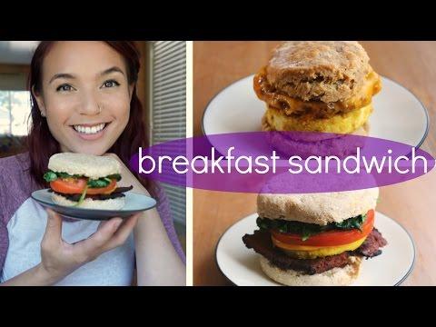 Vegan Breakfast Sandwich // Sausage Biscuit &