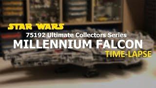LEGO Star Wars Millennium Falcon 2017 - Speed Build (UCS Set 75192 Time-lapse)