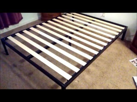 Zinus Modern Studio 14 Inch Platform Metal Bed Frame assembly