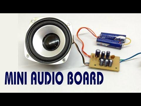 How to Make Mini Audio Amplifier Board with TEA2025B IC हिंदी DIY (HINDI Electronics)ELECTROINDIA