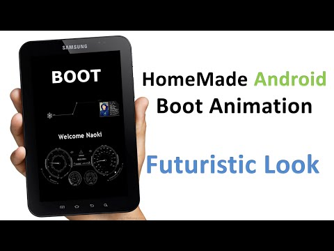 Custom Android Boot Animation