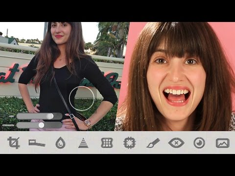 Women Photoshop Their Own Bodies On An App