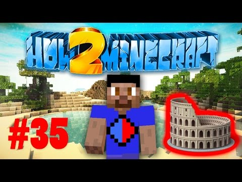Minecraft SMP HOW TO MINECRAFT S2 #35 'ARENA BUILDING!' with Vikkstar