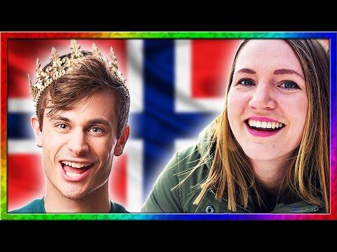 Learn Norwegian with Weird Norwegian and Norwegian Teacher Karin