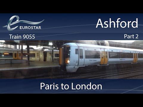 Eurostar: Paris to London: Part 2: Ashford