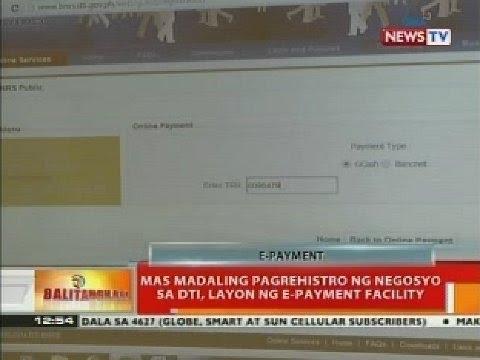 BT: Mas madaling pagrehistro ng negosyo sa DTI, layon ng e-payment facility