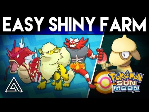 Pokemon Sun and Moon | How to Easily Farm Shiny Pokemon
