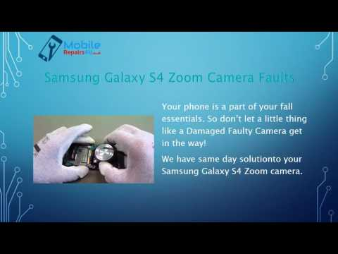 How can repair Samsung Galaxy S4 Zoom broken Screen and Camera in same Day
