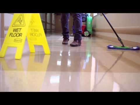 Cleaning A Hospital Hallway with CPI