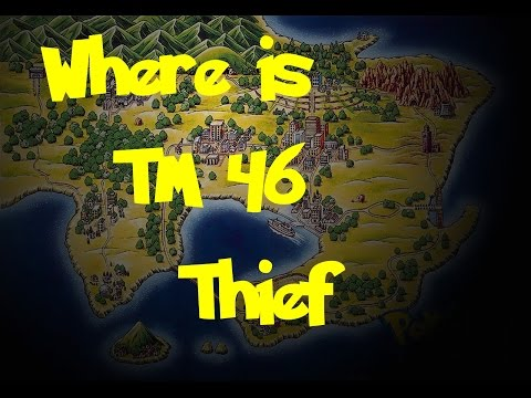 Where Is: TM 46 - Thief (Pokemon Fire Red/Leaf Green)