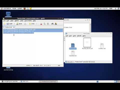 How to create a downloadable directory in Apache on CentOS 6