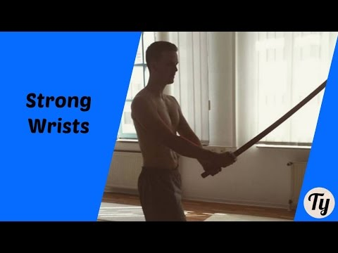 Strong Wrists + Grip Workout for Sword Fighting