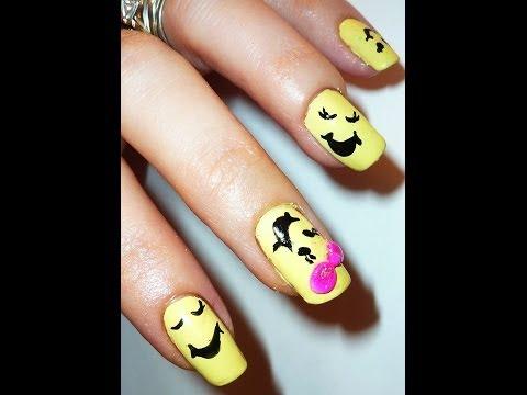 Don't Worry Be Happy - Nail Art