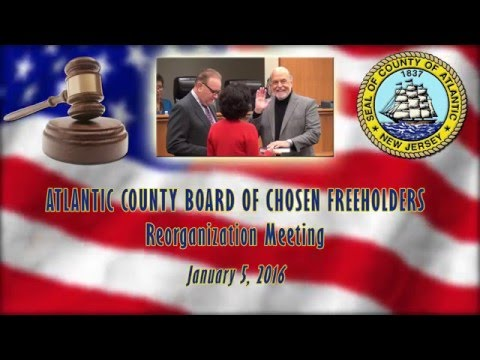 2016 Board of Freeholders Reorganization Meeting