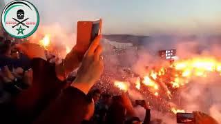 كراكاج خيالي لجمهور طنجة في المباراة التي جمعت المغرب التطواني و اتحاد طنجة