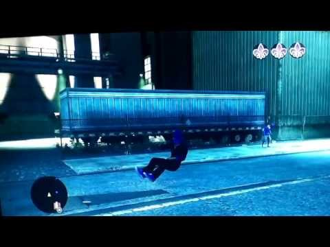 Invisible car glitch  on saints row the third