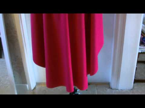 Disney Anna Main cape tutorial part 1 of 2