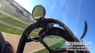 Flying the Spitfire in Oshkosh! Spitfire Mk. IX Helmet Cam