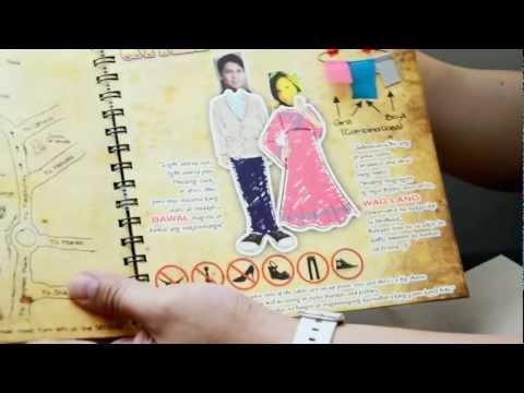 Map/Attire - Jolina & Mark Wedding Invitation Pages