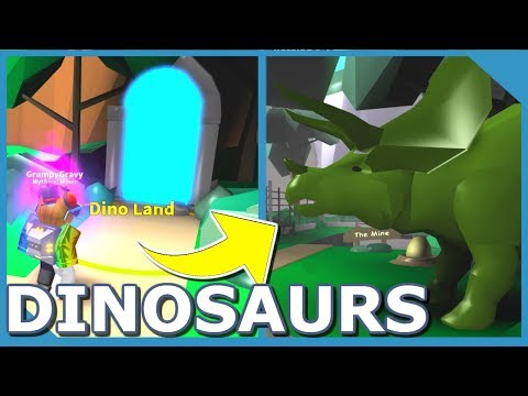 NEW DINO LAND UPDATE in ROBLOX MINING SIMULATOR (NEW OWNER CODES)