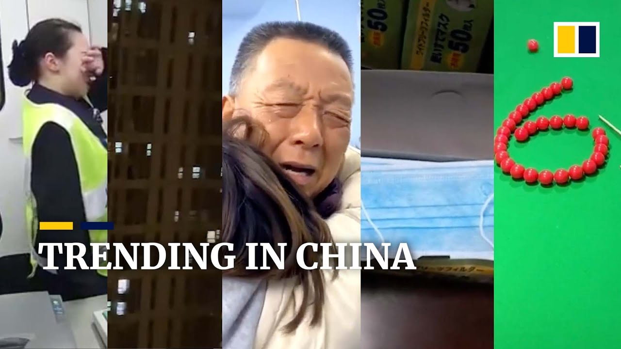 Trending in China: Chinese man 'flees' after leaving 500 face masks for police, and more