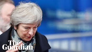 'We have already stepped up the no-deal preparations' says Theresa May