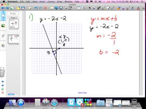 Slope Midpoint and Length Formulas Grade 10 academic Lesson 2 3 # 1,2