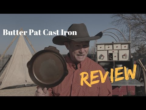 Unboxing: Butter Pat Cast Iron Skillet
