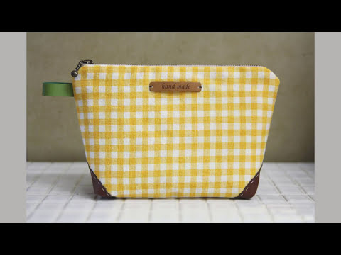 Shine Sewing Tutorial Zippered Handbag