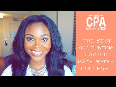 The Best Accounting Career Path after College!