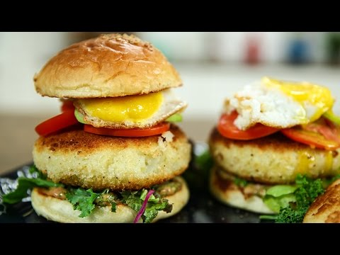 How To Make Prawn Burger | Shrimp Burger Recipe | Prawn Burger Recipe | Recipe By Varun Inamdar