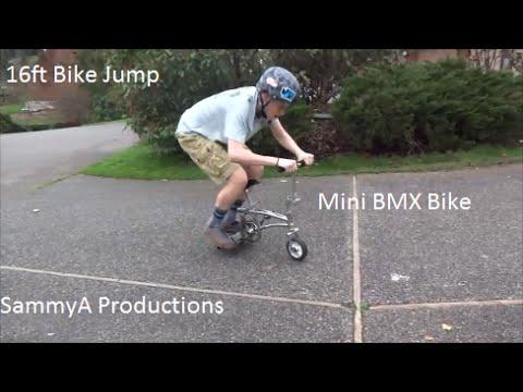 Mini BMX Bike Edit (16 ft bike jump and more)