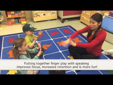 Cool Panda | Mandarin Chinese Classes for Kids - Finger Games