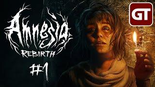 Amnesia: Rebirth mit Facecam #1 - Let's Play / PC-Gameplay deutsch