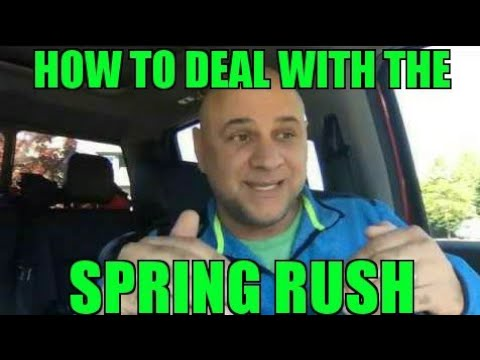 How to Deal With The Spring Rush in Landscaping - w Phil Sarros Dirt Monkey University