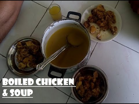 HOW TO MAKE BOILED CHICKEN FOR BODY BUILDING