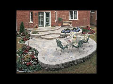 stone patio designs