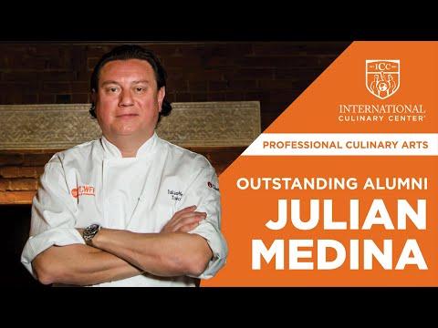 Outstanding Alumni 2017: Julian Medina, Excellence in Culinary Arts