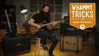 Whammy Bar Tricks with John Petrucci of Dream Theater  | Reverb Interview
