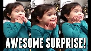 HER EXCITEMENT IS REAL! - January 05, 2018 -  ItsJudysLife Vlogs