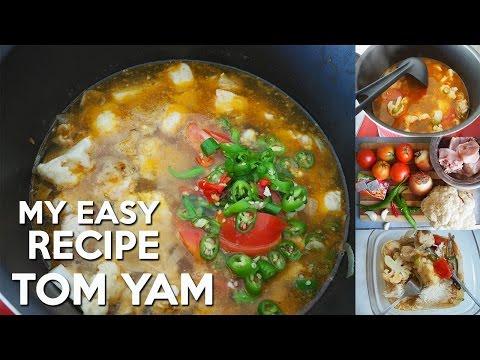 My Tom Yam Chicken Recipe Super Easy