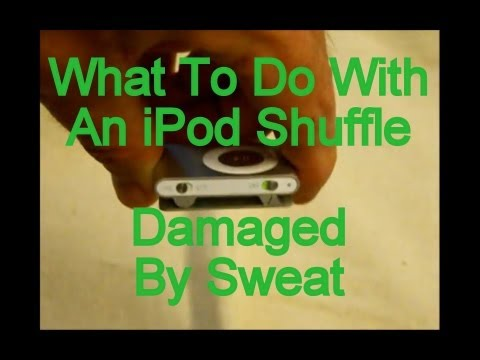 What To Do With iPod Shuffle Dead From Sweat