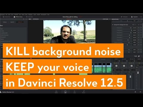 How to drastically reduce annoying background noise in your videos while preserving voice quality