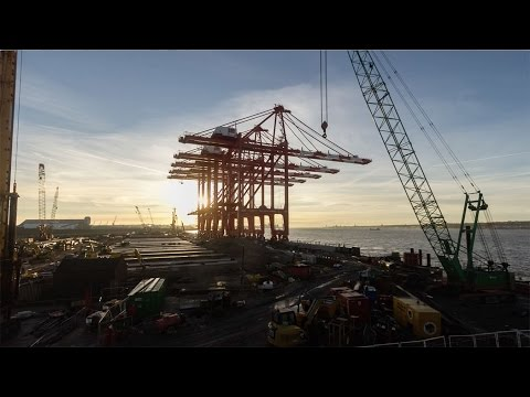 Liverpool 2 Docks Construction Timelapse -  A Vision Revealed
