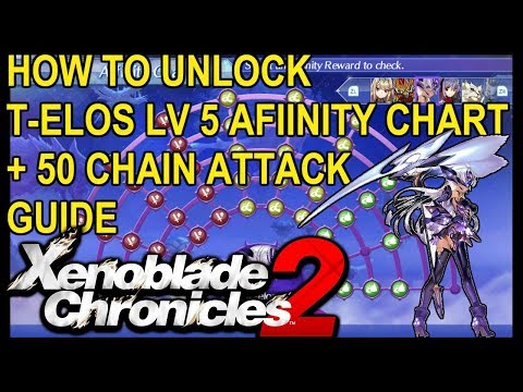 How to Unlock T-Elos Lv5 Affinity + 50 Chain Attack Guide - Xenoblade Chronicles 2