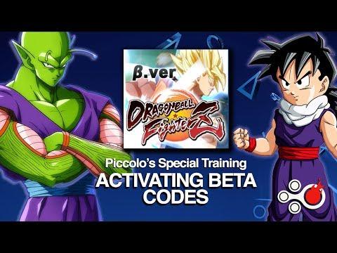 Piccolo's Special Training: Activate Your Dragon Ball FighterZ Closed Beta Code #DBFighterZBeta